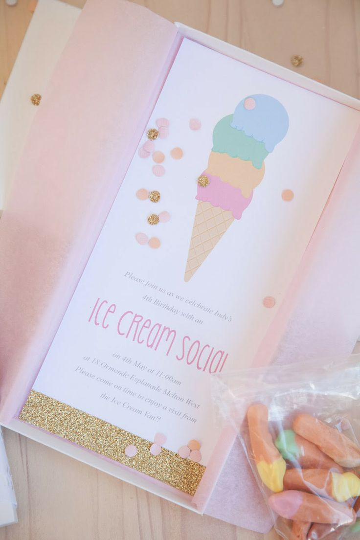Little Big Company | The Blog: Indiana's Ice Cream Social by Jo Studio