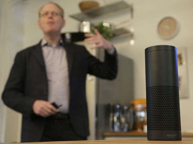 Amazon Echo turns into a sleeper hit, offsetting Fire's failure