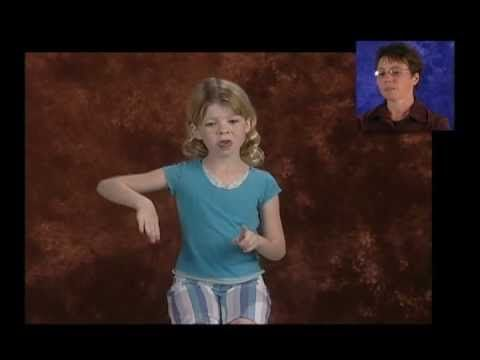 "Playlist of 32 YouTube videos to practice ASL interpreting and signing. First in the list is ""LEARN TO INTERPRET FOR DEAF CHILDREN! (1A),"" pictured above."