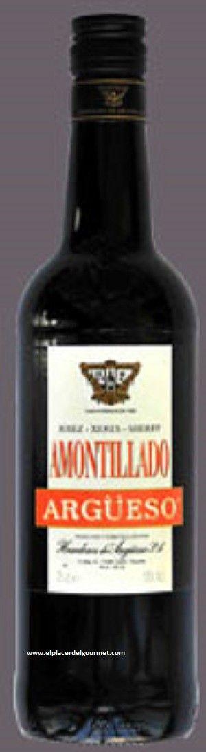 AMONTILLADO ARGUESO, OFERTA SHERRY WEEK 5,3€ http://www.elplacerdelgourmet.com/es/home/447-jerez-vino-amontillado-bodegas-argueso-70cl.html