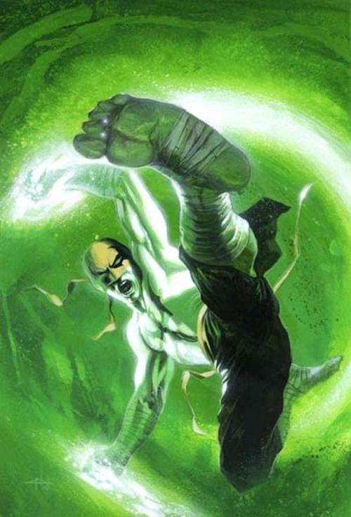 Iron Fist by Gabriele Dell'Otto