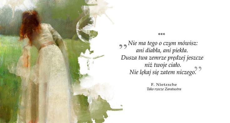 F. Nietzsche, Tako rzecze Zaratustra, #wolnelektury #image #tumblr #inspiration