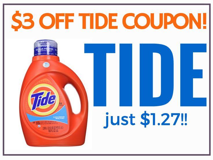 New $3/1 Tide Coupon: Makes It $1.27 at CVS (Starts 11/1/15)