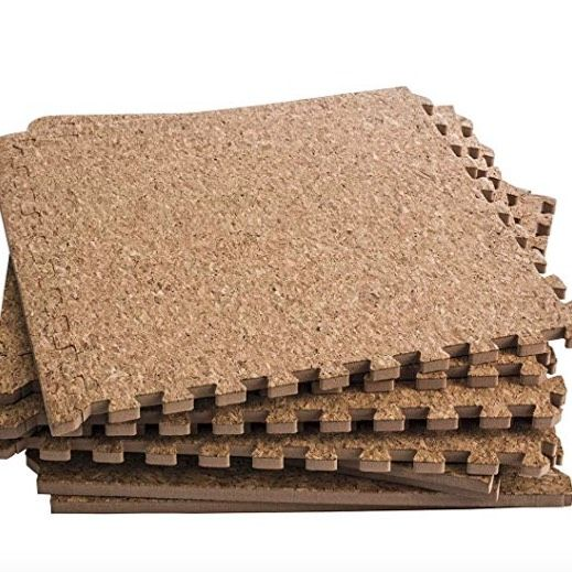 4 Fast Fab And Temporary Flooring Ideas For Renters In 2020 Temporary Flooring Interlocking Foam Mats Cork Flooring