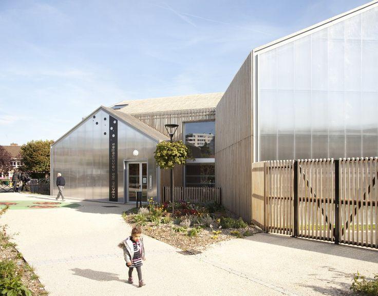 Les Coccinelles Nursery School / SOA Architectes