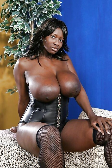Big Boobed Black Women
