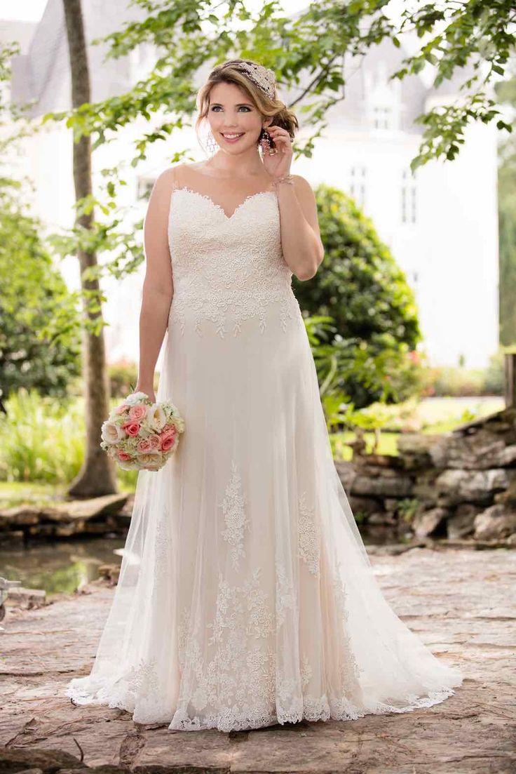 34 best plus size wedding dresses images on pinterest stella york wedding dress inspiration ombrellifo Images