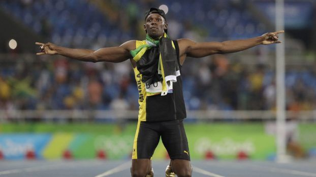 Jamaica's Usain Bolt celebrates winning the gold medal in the men's 4x100-metre relay on Friday night. The win capped one of the greatest Olympic careers in history. He will always be out there blazing his way through our mind's eye, carrying joy and that sunburst adrenaline of pure thrills, and we will say, remember? He was the best there ever was.