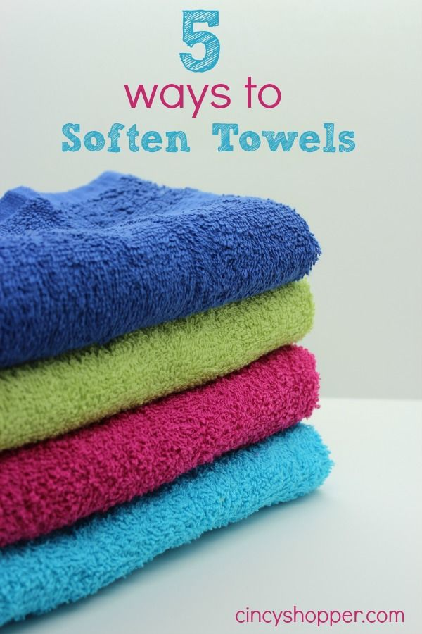 Natural Way To Make Your Towels Smell Fresh Again