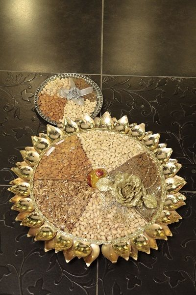 Beautiful thalis for various occasions.