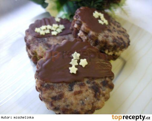 Kapučínovo-čokoládové koláčky