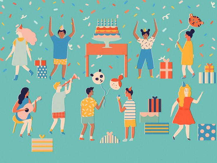 Facebook Events - Naomi Wilkinson Illustration