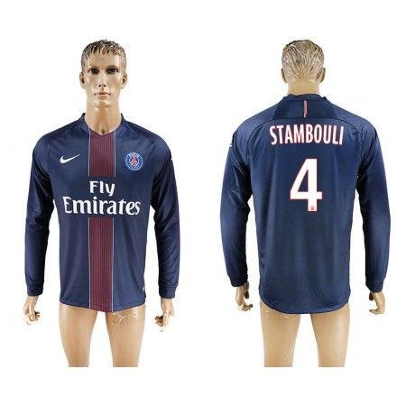 PSG 16-17 #Stambouli 4 Hemmatröja Långärmad,304,73KR,shirtshopservice@gmail.com