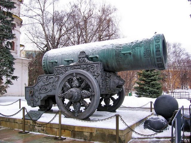 Let's take a look over the largest cannons ever used in battle. Schwerer Gustav railway gun was developed by the Nazis in preparation for WW2