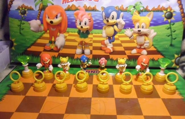 Jeu d'échec #Sonic (#goodies)  http://sushimanleninja.com/jeu-dechec-sonic/