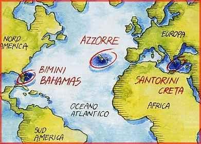 """La """"favolosa"""" civiltà atlantidea Per secoli i ricercatori, hanno scandagliato il globo alla ricerca di questo favoloso Continente. Una vecchia teoria individuava Atlantide ad occidente di Gibilterra e considerava le isole Canarie e  #atlantide #continentescomparso #critia"""