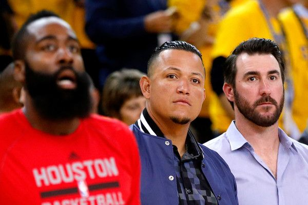 Miguel Cabrera Photos - Houston Rockets v Golden State Warriors - Game Five - Zimbio