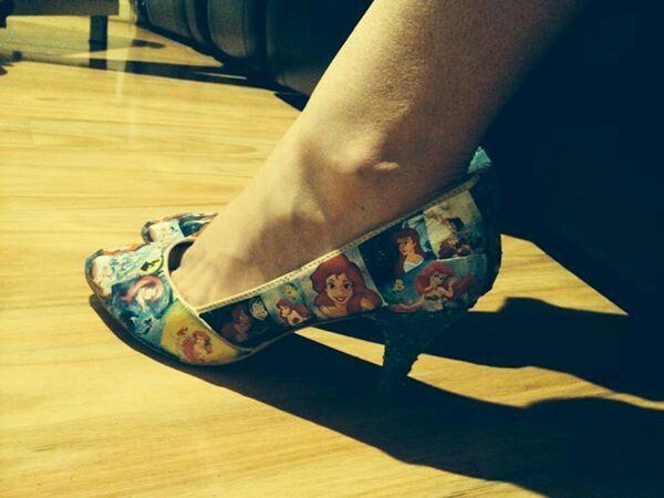 Little mermaid heels