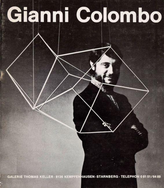 Gianni Colombo at Galerie Thomas Keller, Starnberg, November 14 – December 10, 1970