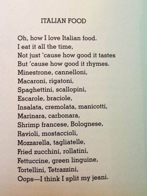 25+ best ideas about Poems about food on Pinterest | Dont be sad ...