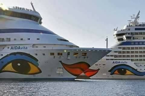 #Summer is loading ... #Delos Tours #fleet and #SeaBus ready to #Welcome all #passengers in #Mykonos !