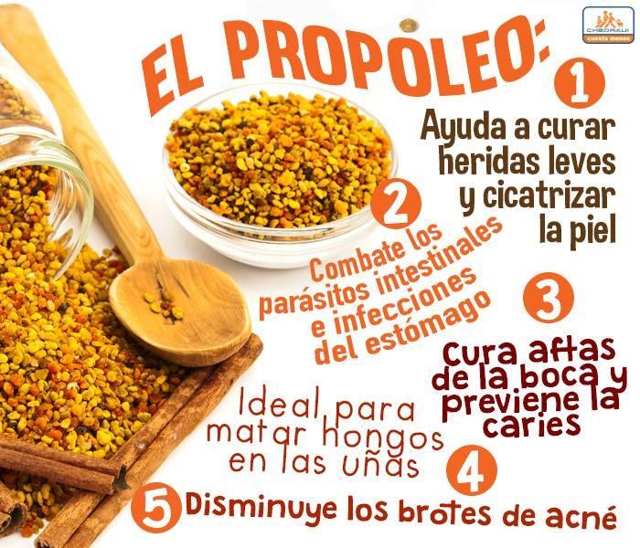 Propiedades y beneficios de el  Propóleo.