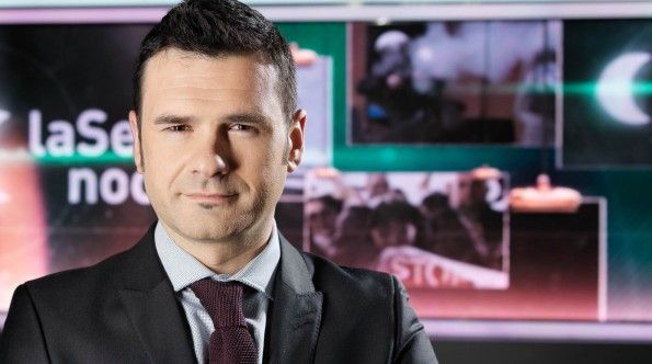 """Entrevista a Iñaki López, presentador de """"La Sexta Noche"""" en La Sexta"""