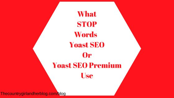 What are STOP WORDS? You need to try to avoid using them in your blog posts.