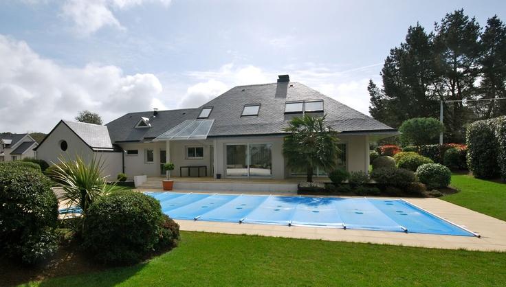 Vente maison contemporaine avec piscine baden golfe du for Piscine morbihan