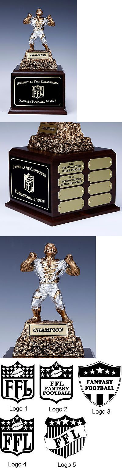 Other Football 2024: Fantasy Football Perpetual - Torn Shirt Monster Award 16 Year BUY IT NOW ONLY: $49.95