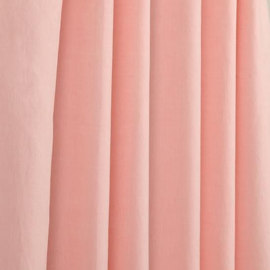 Fresh Linen Curtain Panels (Pink) | The Land Of Nod