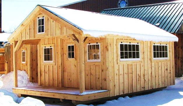 25 best tiny houses plans jcs images on pinterest for Bunk house kits