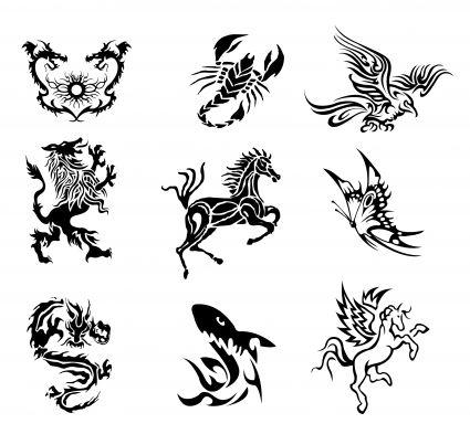 legend fantasy creature for tattoo