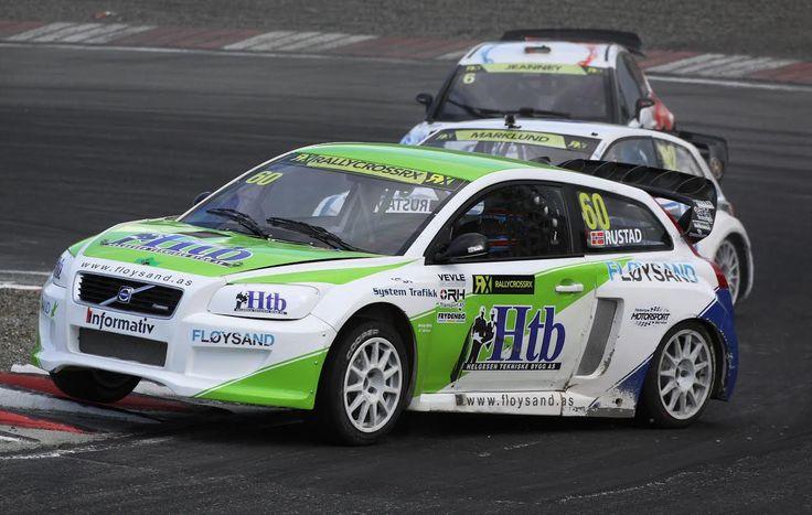 Tommy Rustad stiller i SuperCars EM og VM Rallycross 2014
