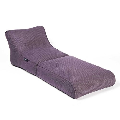 Indoor Bean Bags | Conversion Lounger - Aubergine Dream | Bean Bags Australia