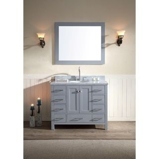 The Awesome Web Single Bathroom Vanity Set The contemporary Ariel Cambridge in Single Bathroom Vanity Set brings both storage and beauty to your space