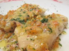 filetti di merluzzo ai peperoni e pepe rosa