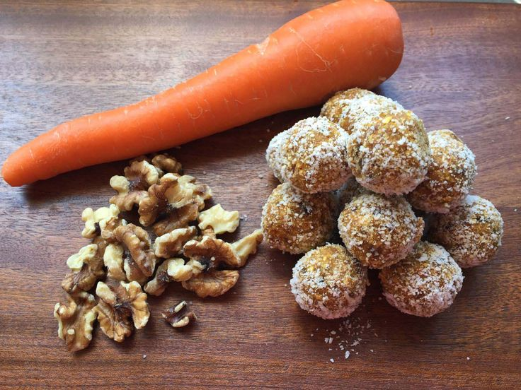 Carrot Cake Bliss Balls, a recipe from The Healthy Mummy