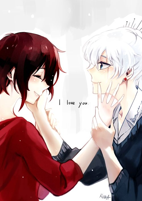 rose, ruby, and weiss di Yelena | We Heart It