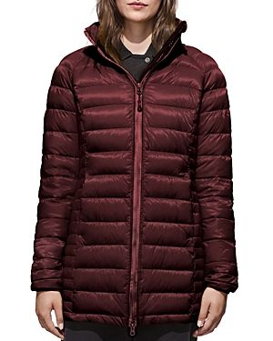 CANADA GOOSE BROOKVALE PACKABLE HOODED DOWN COAT. #canadagoose #cloth #