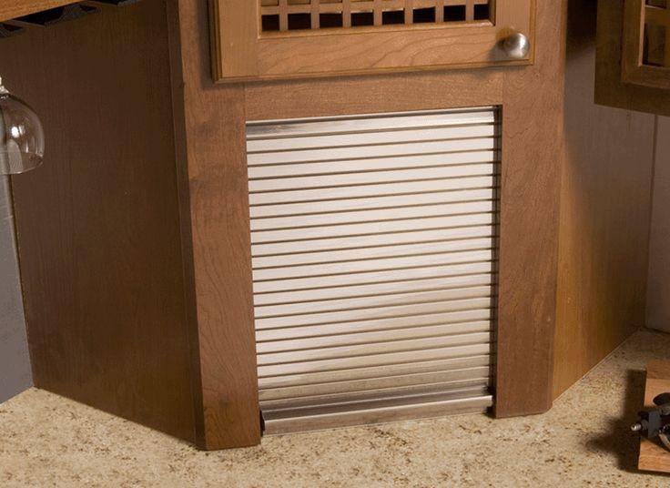 Aluminum Tambour Door For Appliance Garage Former