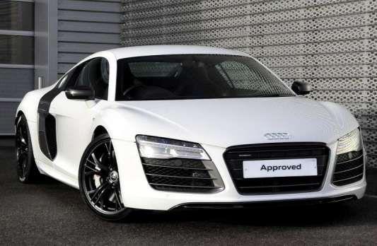 Used 2013 (62 reg) White Audi R8 5.2 FSI [550] V10 Plus Quattro 2dr S Tronic for sale on RAC Cars