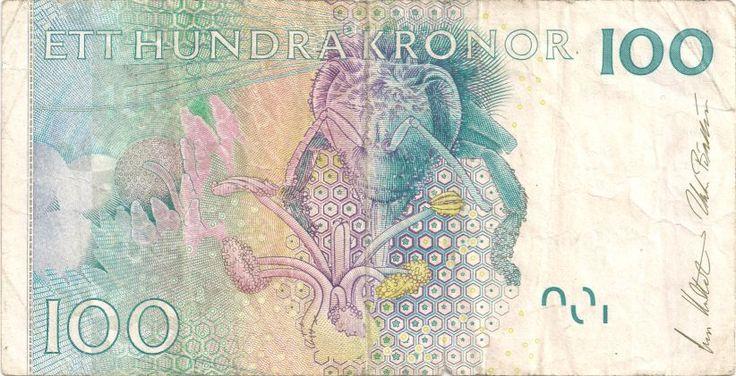 Wertseite: Geldschein-Europa-Nordeuropa-Schweden-Krona-100-2001