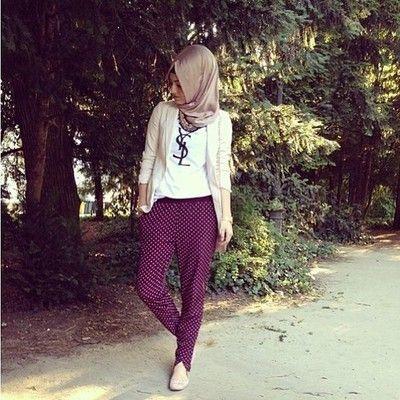 YSL hijabi