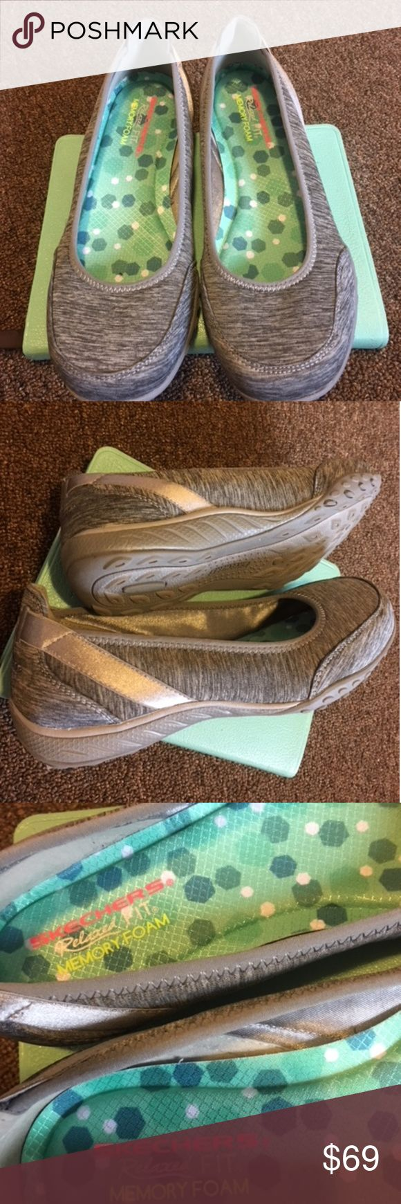 🆕🌼 Skechers Memory Foam Sneakers Brand New.  Perfect for Spring!! Skechers Shoes Sneakers