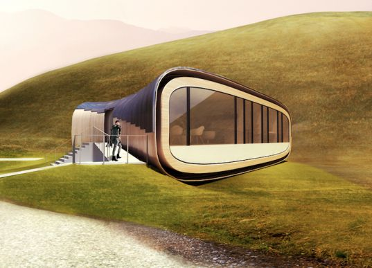 Solar and Wind-Powered Living Aleutian Home Resembles a Lobster Tail | Inhabitat - Sustainable Design Innovation, Eco Architecture, Green Building