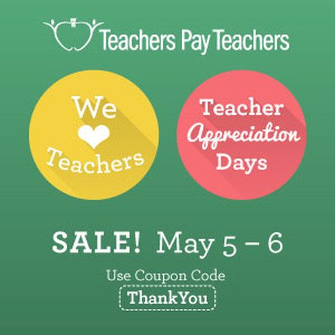 187 best theteachertreasury images on pinterest teaching ideas it should be no surprise that my entire tpt store will be off in honor of teacher appreciation days thanks for all you do as teachers and i hope you enjoy fandeluxe Images