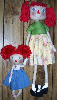 Lillie Mae's Crafts-Lots of free ragdoll tutorials!