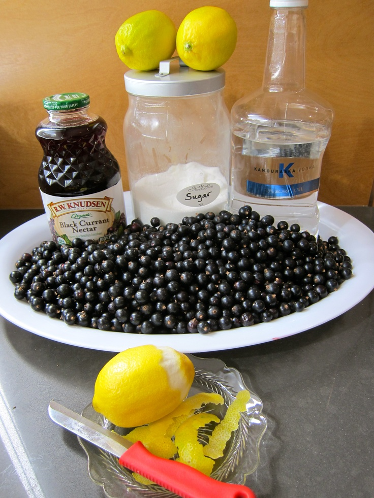 Blackcurrant Vodka