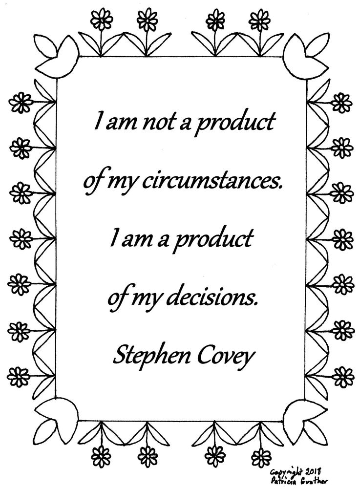 I am not a product of my circumstances Stephen Covey quote ...
